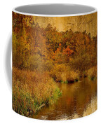 Trout Stream Textured Coffee Mug