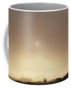 Truck Back Road In Fog Coffee Mug