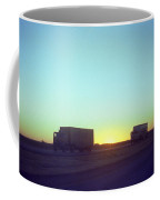 Trucker Sunset Coffee Mug