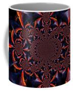 Trucker Sunset Illusion 2 Coffee Mug