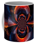 Trucker Sunset Illusion Coffee Mug