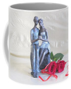 True Love In Silver Coffee Mug