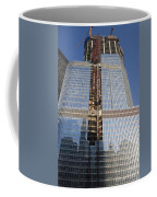 Trump International Hotel Under Construction Chicago Coffee Mug