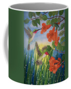 Trumpet Vine Fantasy Coffee Mug