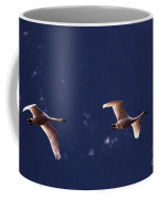 Trumpeter Swans In-flight Coffee Mug