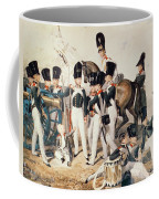 Tsarevich Alexander 1818-81 With His Cadets At Peterhof, C.1823 Wc On Paper Coffee Mug