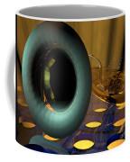 Tuba Goes Disco Coffee Mug