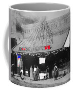 Tucson Gas And Electric Company In Tucson C. 1913 The Year Villa Visited Tucson -2010 Coffee Mug