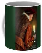 Tudor Man With Candle Coffee Mug