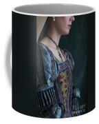 Tudor Woman In Profile Coffee Mug