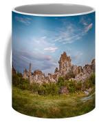 Tufa And Clouds Coffee Mug
