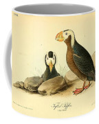Tufted Puffins Coffee Mug by Philip Ralley