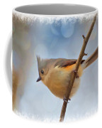 Tufted Titmouse - Digital Paint II With Frame Coffee Mug