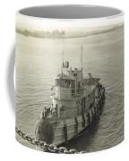 Tug Boat In Puerto Rico 1956 Coffee Mug