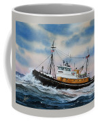 Tugboat Island Commander Coffee Mug