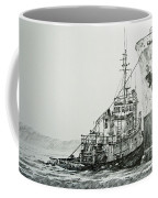 Tugboat Richard Foss Coffee Mug