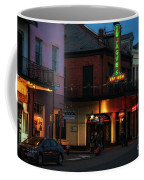Tujagues At Night In New Orleans Coffee Mug