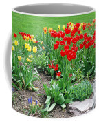 Tulip Gardenscape Coffee Mug