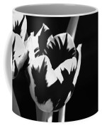 Tulip Group In Black And White Coffee Mug