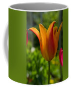 Tulip On The Green Background Coffee Mug