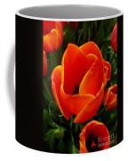 Tulip Orange Flower Coffee Mug