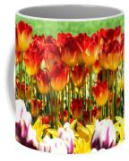 Tulip Stand In Mount Vernon Washington Coffee Mug