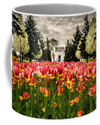Tulips And Building Coffee Mug
