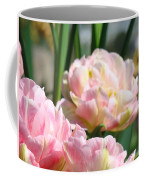 Tulips Flowers Garden Art Prints Pink Tulip Floral Coffee Mug