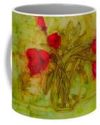 Tulips In A Glass Vase Coffee Mug