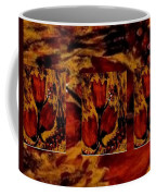 Tulips In Acryl Collage Coffee Mug