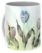 Tulips In Ink Coffee Mug