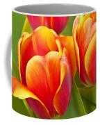Tulips Red And Yellow Coffee Mug