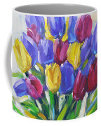Tulips Time Love The Spring By Prankearts Coffee Mug