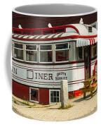Tumble Inn Diner Claremont Nh Coffee Mug by Edward Fielding