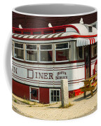 Tumble Inn Diner Claremont Nh Coffee Mug by Edward Fielding