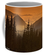 Tumtum Peak At Sunset Coffee Mug