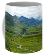 Tundra View From Eielson Visitor's Center In Denali Np-ak  Coffee Mug