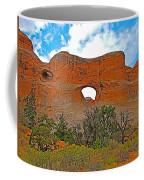 Tunnel Arch On Devils Garden Trail In Arches National Park-utah In Arches National Park-utah Coffee Mug