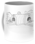 Tunnel Of Love Ride Intersects With A Tunnel Coffee Mug