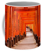 Tunnel Of Torii Gates, Fushimi Inari Coffee Mug