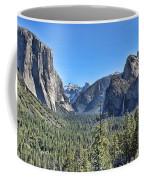 Tunnel View At Yosemite Coffee Mug