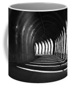 Tunnel With Shadows Coffee Mug
