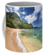 Tunnels Beach Bali Hai Point Coffee Mug
