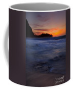 Tunnels Beach Dusk Coffee Mug