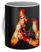 Tupac Pray For A Brighter Day Coffee Mug