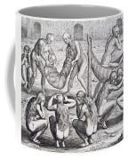 Tupinamba Chief And His Family Fall Ill While Hans Staden Is Held Captive Coffee Mug