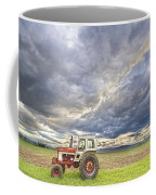 Turbo Tractor Country Evening Skies Coffee Mug by James BO  Insogna