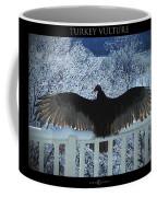 Turkey Vulture Sunning Coffee Mug