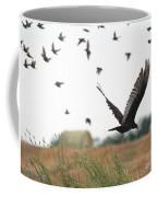 Turkey Vulture Takes Flight Coffee Mug