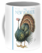 Turkey Wearing A False Pig Nose Coffee Mug